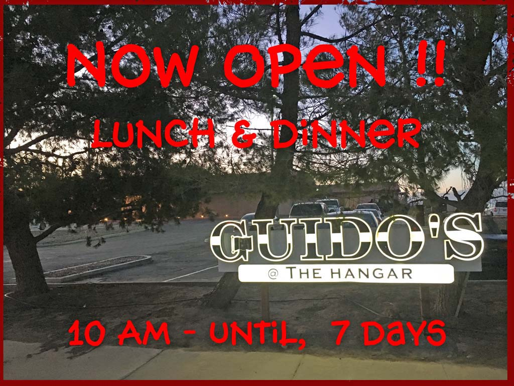 Guidos Is Open!